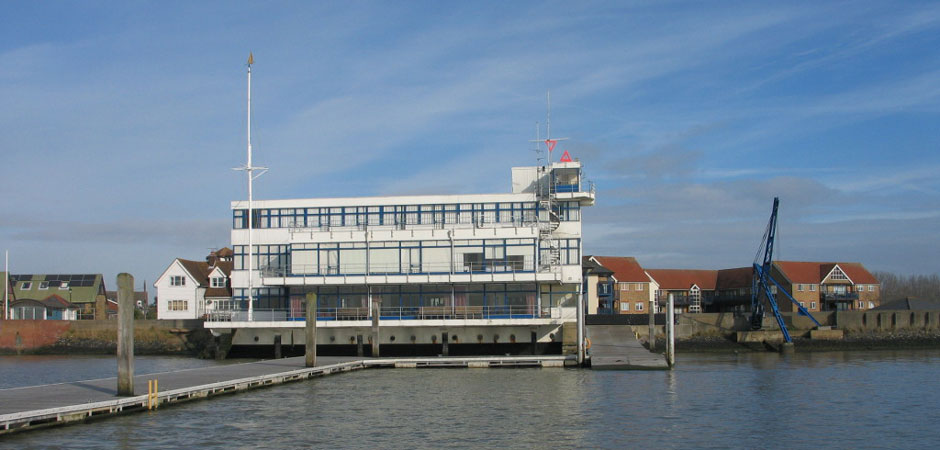 The listed Royal Corinthian Yacht Club (RCYC) Essex